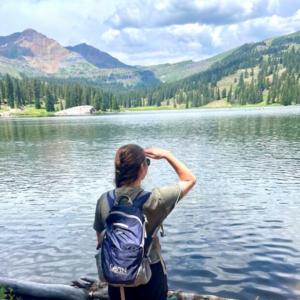Attorney Courtney Reigel surveys the land of Colorado just as she surveys the landscape of Colorado Data Privacy legislation